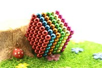 neo magnet - Multi color mm Bucky Balls The Neocube neodymium Toy Neo Cubes Toy Sphere Magnet Magnetic Buckyballs with Metal Box Education Toys