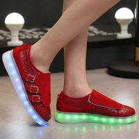 b lights flashlights - Learn Luxury Brand female Luminous Basket LED Light up Shoes femme Laser online or Flashlight chaussure trainers for adults men