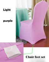 Wholesale 100 Universal White Stretch Polyester Spandex Wedding Party Chair Covers for Weddings Banquet Hotel Decoration Decor