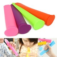 Wholesale New High quality Silicone Push Up Ice Pop Cream Jelly Lolly Stick Yogurt Maker Mould