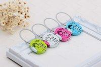 Wholesale Korean style Fashion bags drawer Mini password lock metal lock small luggage bags padlock