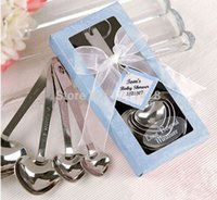 Wholesale Elegant wedding favors and gifts set for wedding souvenir party favors love measuring spoon set pieces