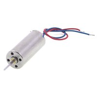 Wholesale FS Hot DC V mm x mm Cylinder Mini Coreless Motor for Model Aircraft Toy order lt no track