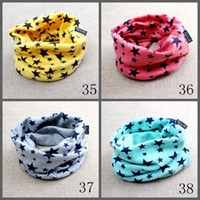 baby scarf patterns - new fashion multi patterns colourful baby cotton scarf hat many style