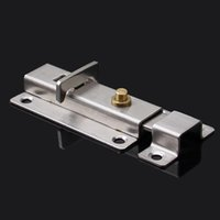 automatic door bolt - Automatic door latch bolt stainless steel spring bolt locked inch inch bolt latch bolt brass button