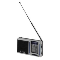analog portable radio - New Mini Radio Station AM FM Band Portable Pocket Radio Analog Mini Broadcasting with Built in Speaker Eletronic Hot