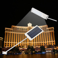 led solar lights - 2015 LED Ultra thin Waterproof Solar Sensor Wall Street Light Outdoor Garden Lamp