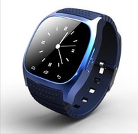 Montre Bluetooth Smartwatch M26 avec affichage LED Barometer Alitmeter Music Player podomètre pour Android IOS Mobile Phone Factory Prix