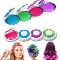 Wholesale Europe and America Popular DIY in Hair Dye Hot Huez Temporary Hair chalk compacts Pastel Hair Dye Color Chalk Hair Dyeing machine