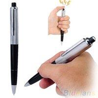 Wholesale Utility Gadget Gag Joke Funny Kuso Prank Trick Novelty Toy Gift Electric Shock Pen PXG VHV