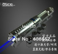 Wholesale 2015 New w blue laser flashlight blue laser pointers instant cigarette send heads