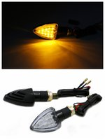 motorcycle headlamp - 2 Universal Motorcycle LED Turn Signal Blinkers Indicator Lights LED Motorcycle Headlamps Front Lights In Yellow LightsKSL BC
