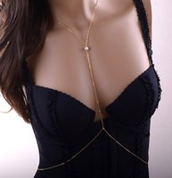 Wholesale 2016 Accessories c0065 Hot Gold Pearl Women For Gift Fine Jewelry Sexy Waist Belly Navel Body Chain B12 B3xr F0046