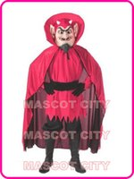 Custom Made athletics activities - The Red Devil Mascot Adult Costume for Halloween Holiday Carnival Theme Party Activities Free Ship SW1329