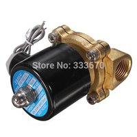 Wholesale Durable High Quality W V Electric Solenoid Valve Water Air Fuels Gas Normal Closed