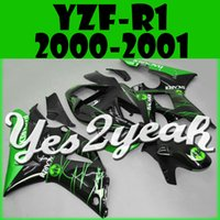 bacardi green - New Hot fairings free gift Bolts Screws Injection Mold Fairing Fit YZF R1 YZF R1 Bacardi Green Y10Y17