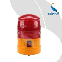 Wholesale IP45 DC V AA BATTERY EZ Setting magnetic connecting Flashing type industrial alarm red indicator lamp