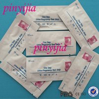Wholesale By DHL MIU ML Pregnancy Test Strip One Step HCG Urine Test Strip