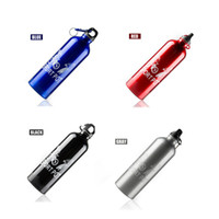 Wholesale Portable Aluminum Alloy Water Bottle ml Mountain Bike Bicycle Cycling Outdoor Sports Water Bottle Size mm mm