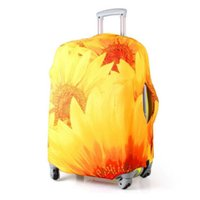 Wholesale Luggage Protector Suitcase Cover Bags Sunflower quot quot quot quot quot quot quot