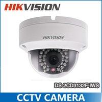 wifi de la cámara de levas inalámbrica Wi-Fi de la cámara de Hikvision DS-2CD3132F-IWS 3MP IP POE cúpula exterior reemplazar DS-2CD2132F IWS-ds-2cd2132f-ds-es 2cd31