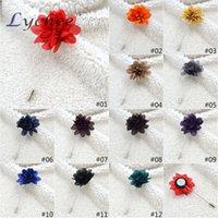 fabric flower pin - Lapel Flower Fabric Brooch Bouquet Stick Pin Handmade Mens Accessories