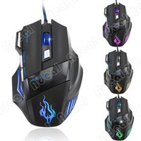 mouse usb - New LED Optical Button USB Wired Expert Gaming Mouse Mice For Pro Gamer Cheap SV002748