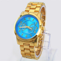 american watch brands - Wholesales Europe American style New Brand Women Watch Blue Dial stainless steel watch Quartz Watch Lady s WristWatches