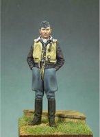 air force war - German Air Force Officer Pilot Resin Model Assembly Model Second World War Model WWII WW2
