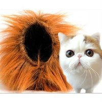 Wholesale 2015 Precious New Casual Pet Wigs Cat Grooming Accessories Novetly Cat Wig Pet Halloween Products