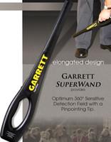 big airport - Big sale Super Wand Handheld Metal Detector Metal Detector Wand Airport Body Scanner Detector