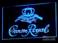 bar crown - a104 b Crown Royal Derby Whiskey NR beer Bar Light Sign