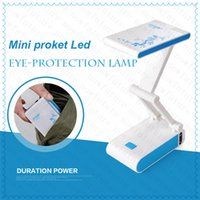 Cheap High quality LED Light free-angle adjustable Eye Protection Table Lamp Folding Rechargeable LED Desk incandescent Lamp