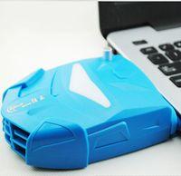 Cheap Laptop Cooling Pads laptop cooler USB interface radiator USB fan 3 colors ZT-X7