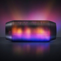 Wholesale For PULSE Portable Wireless Bluetooth Mini Speaker wireless Streaming Colorful LED Lights High Quality