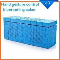 Cheap NFC hand gesture control wireless bluetooth speaker portable loudspeakers subwoofer speakers caixa de som sound box boombox