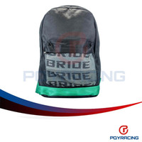 Wholesale PQY STORE JDM BRD Green TAK Harness Backpack Laptop Graduation Bag Drift Race School PQY BB01GN