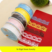 Wholesale Fashion Lace Adhesive Multifunction Tape Masking Tape Decorative Stickers Stationery For Scrap Booking Foto School