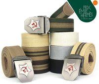 Wholesale New Upset man weaving canvas belt Men s fashion belts waist chains Belt produce
