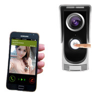 Wholesale 2pcs New Hotselling Waterproof Wi Fi Video Door Phone with APP Connect with Smart Phone