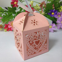 Wholesale 2016 New Arrival joyful box Hollow out creative candy box of love export carton Wedding gift box manufacturers selling