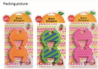 Wholesale Hot Sale Rubber Adjustable Design Baby Safety Gate Doorways Stopper set set