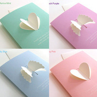 Wholesale Korean Pop uP Gift Card D Handmade Cards For Mother s Day Birthday Wedding Greeting Cards