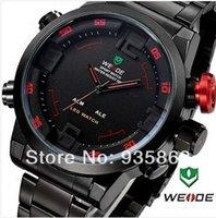 Cheap Japan Army Millitary Watch Dual Movement Alarm Business Japan Quartz Sport 30M Waterproof wristwatch Free Shipping