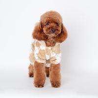 baby teddy blanket - ANGELASHOP polyester blanket dog apparel puppy dog sweater mimi baby bear coral velvet homewear poodle teddy sleep sweater