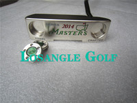 Wholesale Hand Crafted Series Masters Golf Putter Removable Weights With Steel Shaft Head Cover pc DHL