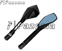 Wholesale PAZOMA Universal Motorcycle Side Mirror Motor Rear View Mirror Motorcycle Suitable to CB CBR NSR RVF RVT VFR VTR Hornet