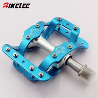 bicycle axel - 2015 hot new BMX ROAD colored bike pedals Aluminum alloy bicycle pedal CR MO axel sealed bearing CNC pedales bicicleta mtb parts