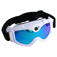 Wholesale Ski goggles HD P DV video recorder taking photo sport action camera DVR snowboard goggles digital camera for women men snow goggles SU10C