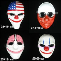 bear head mask - flag red head clown old man Hot Selling Halloween mask Payday theme mask of high grade